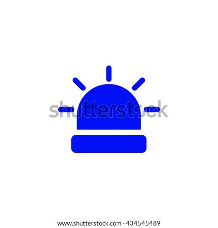 Police Light Icon Ui Vector Eps Jpg Picture Flat App