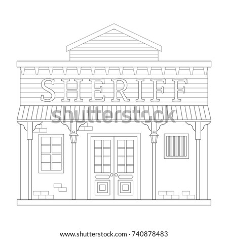 police station building coloring pages - photo#37