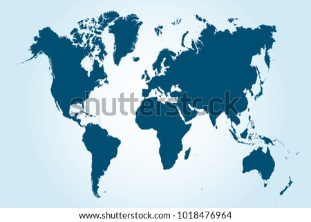 Map world national borders country names stock vector 54286459 political world map gumiabroncs Images