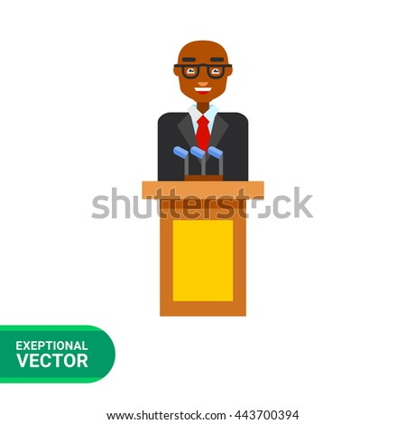 Politician Vector Icon