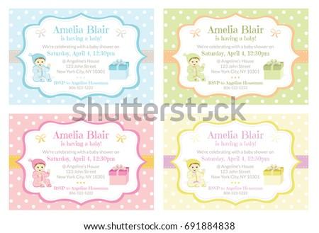 photo baby shower invitations