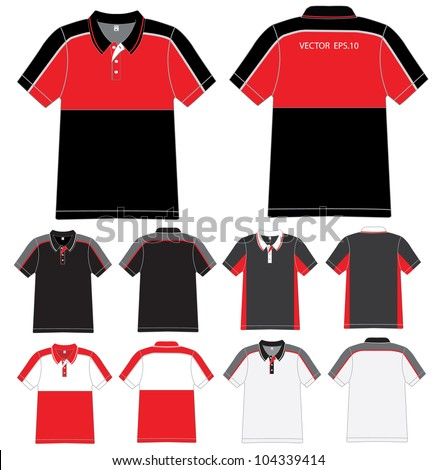 Red Polo Shirt Stock Images Royalty Free Images Vectors