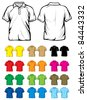 polo shirts - stock photo
