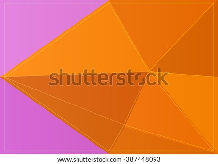 polygon colorful backdrop pattern mosaic vector style
