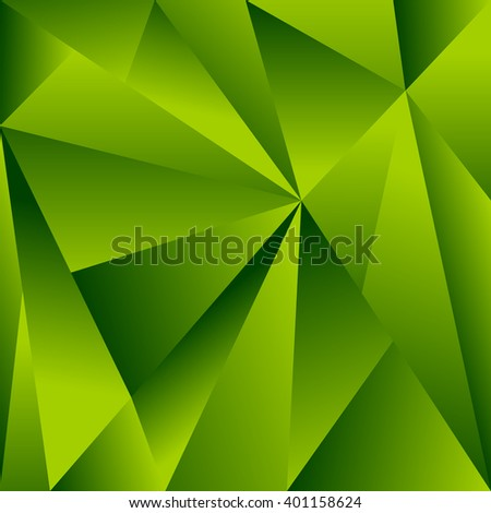 Polygonal background with triangle shapes. Crystallized effect. - stock vector