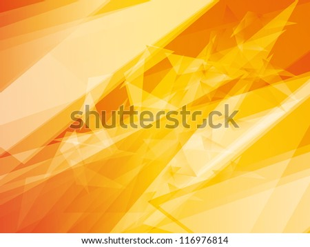 polygonal futuristic abstract background - stock vector