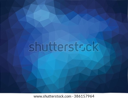 Polygonal Mosaic Background, Business Design Templates - stock vector