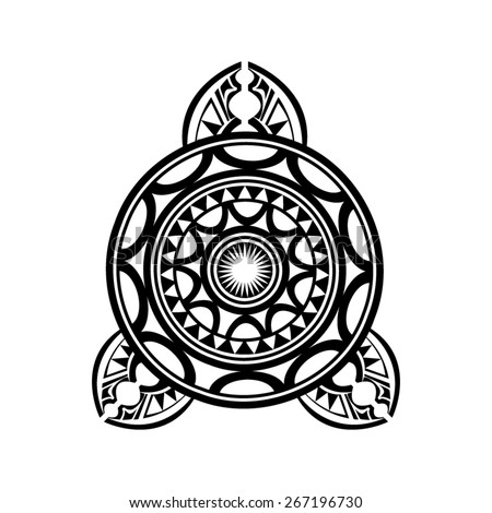 Polynesian Tattoo Pattern Traditional - stock vector