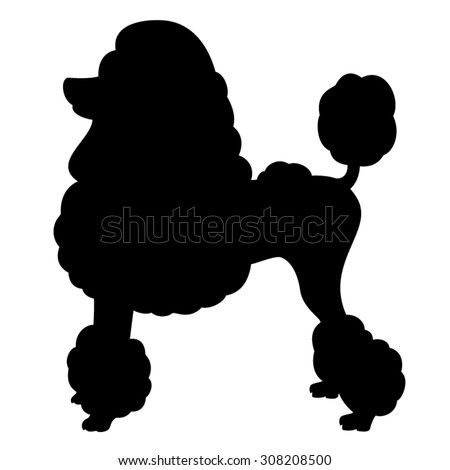 Poodle Silhouette Stock Images Royalty Free Images