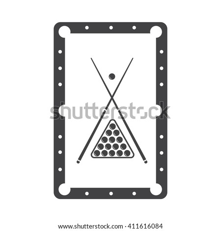 Pool icon Vector Illustration on the white background. - stock vector