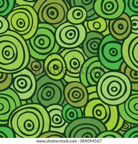 Pop art retro seamless vector background pattern green