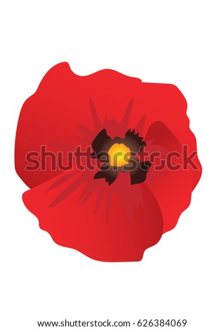 Poppy flower remembrance stock photo photo vector illustration poppy flower remembrance mightylinksfo