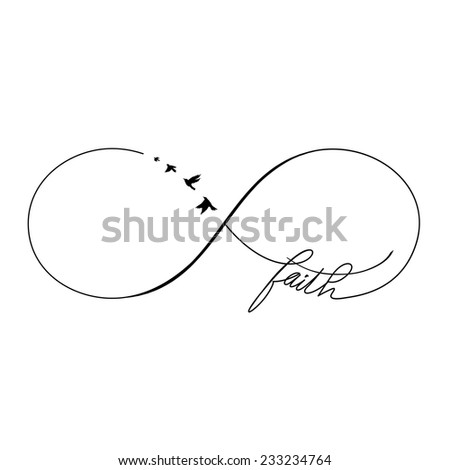 Popular tattoo design calligraphy sketch