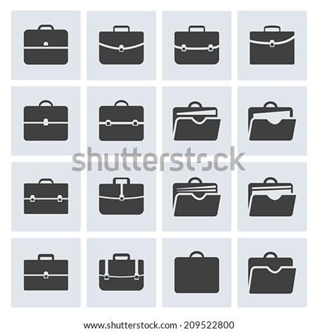 Open Briefcase Stock V...