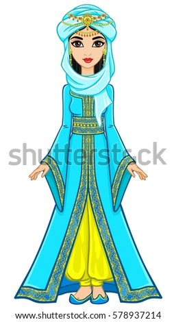 Illustration Egyptian Princess Stock Illustration 92245978 ...