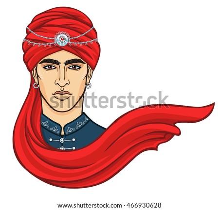 Traditional Turban Coverings Arab Squash Head