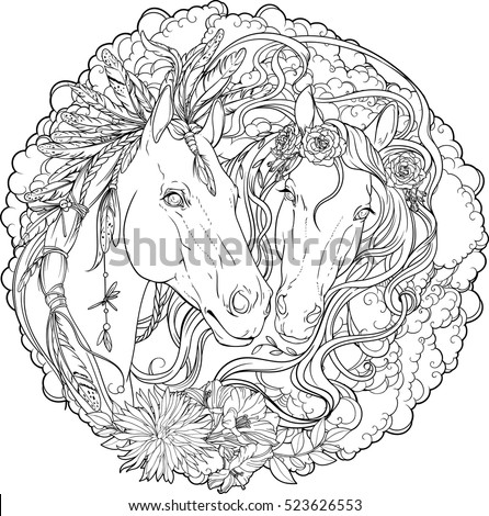 Colorful Horse Stock Images Royalty Free Images Amp Vectors
