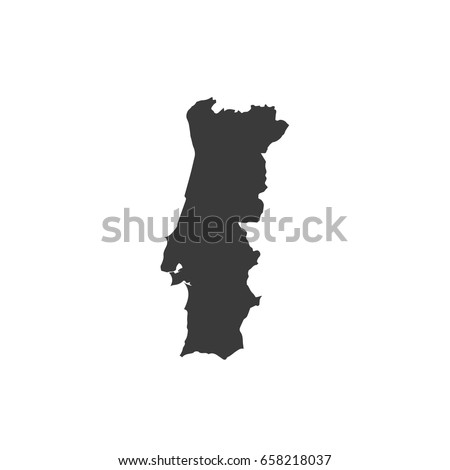 Portugal Map Stock Images RoyaltyFree Images Vectors - Portugal map hd