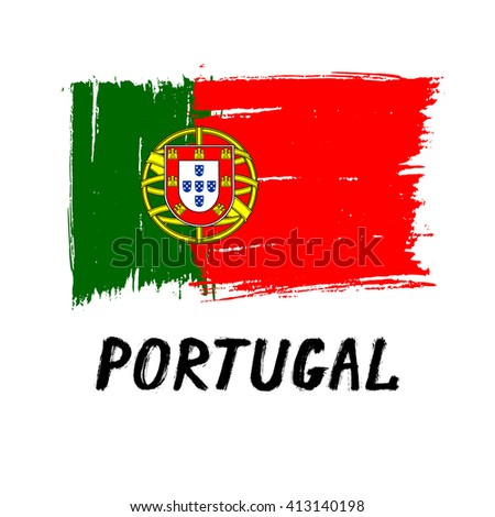 how to draw portugal flag