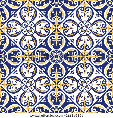 Talavera stock images royalty free images vectors - Azulejos reina ...