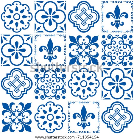 Ceramics stock images royalty free images vectors shutterstock - Azulejos vintage ...