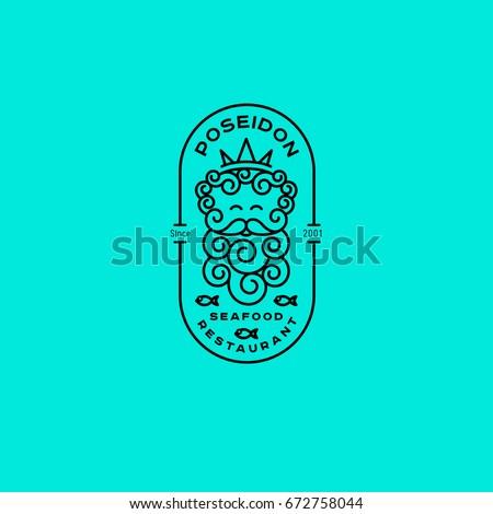 Poseidon Symbol Stock Images Royalty Free Images