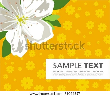 Positive background - stock vector