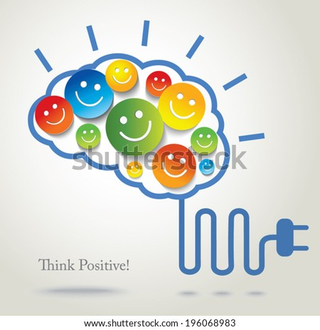 Positive thinking stock images royalty free images - Good thinking wallpaper ...