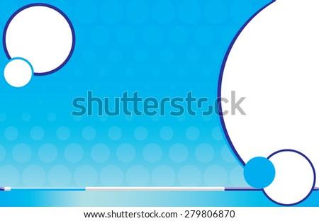 Postcard White Cane Braille - stock vector