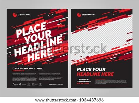 Poster Design Sports Invitation Template