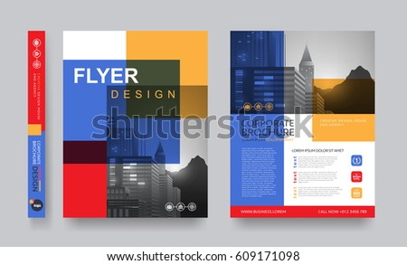 Poster Flyer Pamphlet Brochure Cover Design Vector 568346170 – Pamphlet Layout