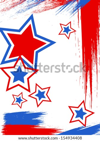 Poster - 4th of July Vector theme Design
