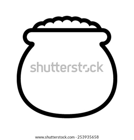 Pot Gold Stock Illustration 589578944 - Shutterstock