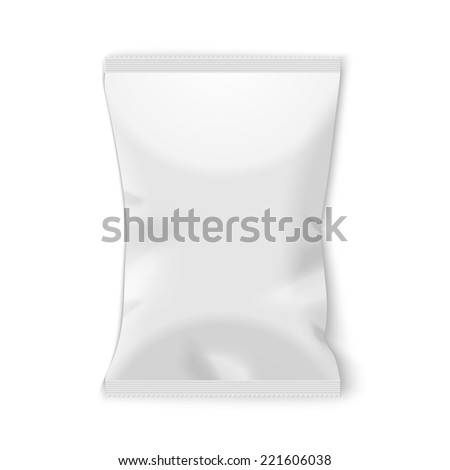 potato chips plastic packaging.