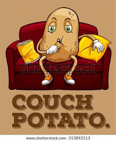 couch potato antithesis