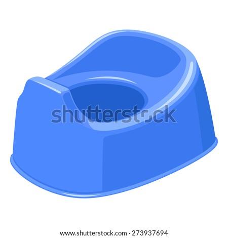 Potty - stock vector