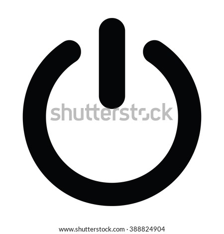 Power  icon, Power  icon eps10, Power  icon vector, Power  icon eps, Power  icon jpg, Power  icon path, Power  icon flat, Power  icon app, Power  icon web, Power  icon art, Power  icon, Power  icon AI - stock vector