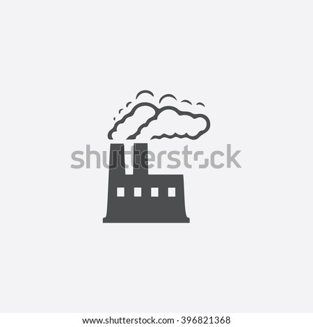 Power plant Icon Vector. Power plant Icon JPEG. Power plant Icon Picture. Power plant Icon Image. Power plant Icon JPG. Power plant Icon EPS. Power plant Icon AI. Power plant Icon Drawing - stock vector