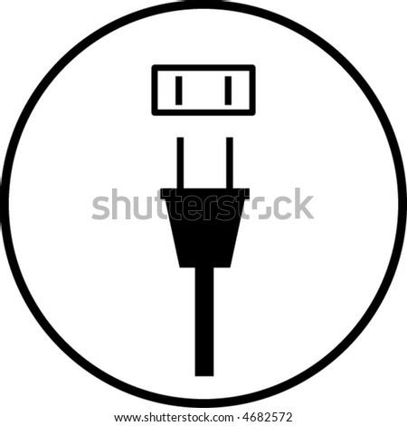 Power Plug Outlet Symbol Stock-Vektorgrafik 4682572 – Shutterstock