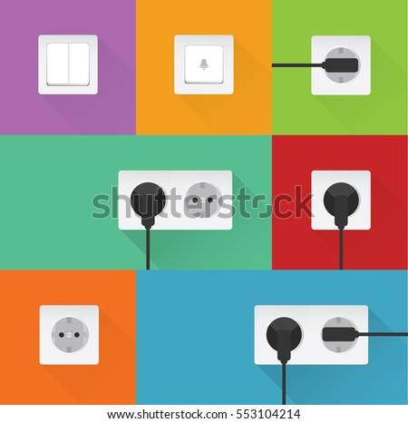 power sockets with power plugs