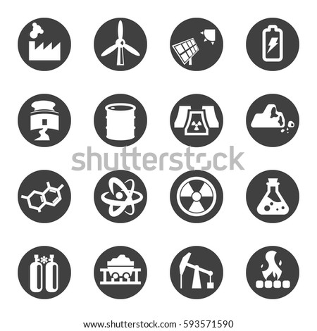 Electricity Industry Icon 519645910 on industrial electrician symbols