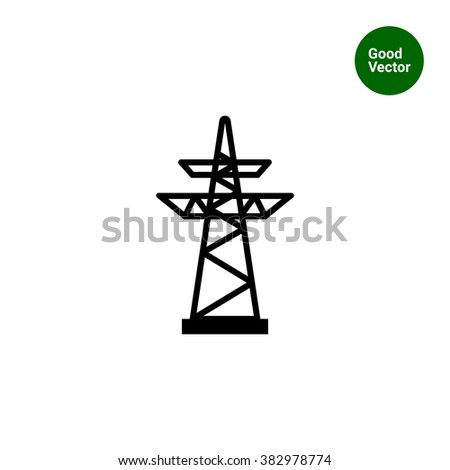 High Rise Building With A High Voltage Column Vector 3864669 furthermore Search together with Royalty Free Stock Photo Power Transmission Tower Isolated White Vector Eps Image34467125 together with 304340 together with Types Pylones. on electric power transmission lines