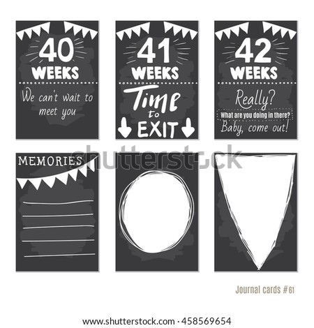 Stock images royalty free images vectors shutterstock for Pregnancy journal template free