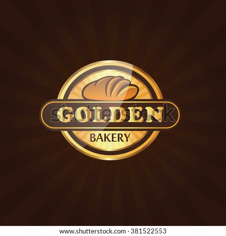 Premium Bakery Label Logo Vector