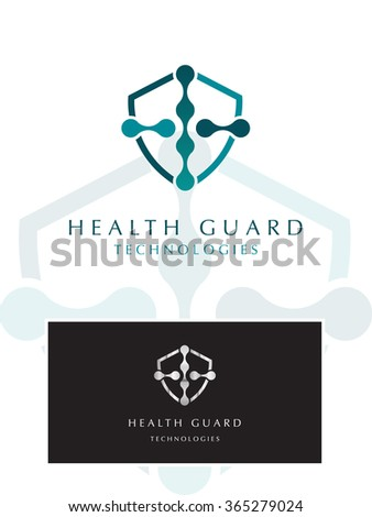 PREMIUM LOGO DESIGN FOR HEALTH AND MEDICAL PROFESSIONS - stock vector
