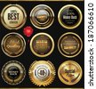Premium quality badges and labels - stock