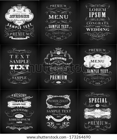 Premium Quality, Guarantee   typography design Vector - stock vector