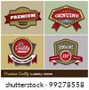 Premium Quality Label/ Icon - stock vector