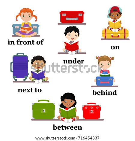 Prepositions Stock Images RoyaltyFree Images Vectors - Next to preposition