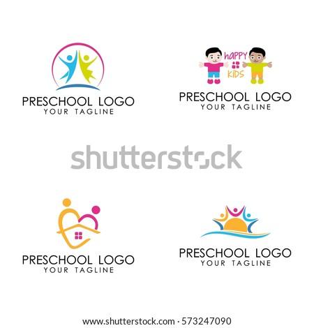 preschool logo vector stock vector royalty free 573247090 rh shutterstock com preschool logo game preschool logos creator